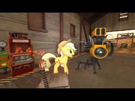 Pony Fortress 2 - Teamwork is Magic HD