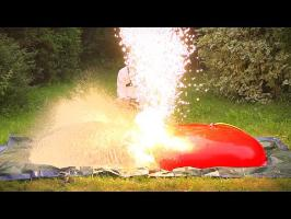 Giant Water Balloons and Fireworks - The Slow-Mo Boy