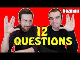12 questions à Dr Nozman