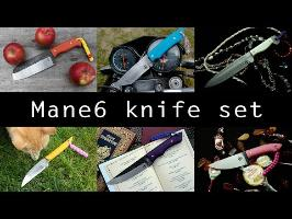 Młody knifemaking: MLP Mane6 knife set