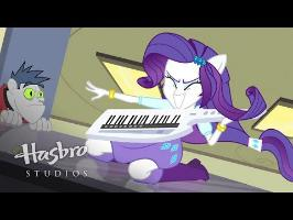 MLP: Equestria Girls - Rainbow Rocks EXCLUSIVE Short - Player Piano