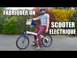 Scooter électrique : Incroyables Expériences [91] Fabriquer un vélo électrique / DIY eBike motor VAE