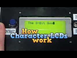 How a Character LCD works Part 1