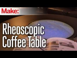 Rheoscopic Disc Coffee Table