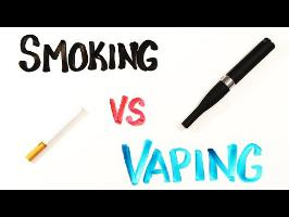 Smoking vs Vaping
