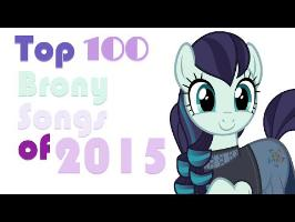 The Top 100 Pony Songs of 2015 [MULTI-METRIC]