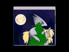 Derpy Hooves and Doctor Whooves Christmas Speedpaint!