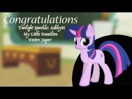 My Little Hamilton-Congratulations (AshleyH)