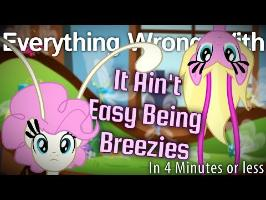 (Parody) Everything Wrong With It Ain't Easy Being Breezies in 4 Minutes or Less