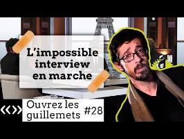 Usul. L'impossible interview en marche