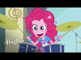 MLP: Equestria Girls - Rainbow Rocks EXCLUSIVE Short - Pinkie on the One