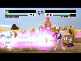 Fighting is Magic: Source Edition [Rainbow Dash Vs Twilight Sparkle] SFM