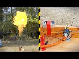 Fabrication d'un lance-flamme à électrovanne ! - Vlog Bricolage #16