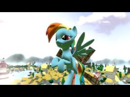 Rainbow Dash is Sick