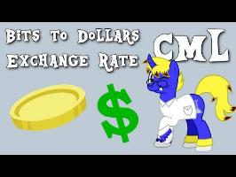 Cutie Mark Laboratories - Bits to Dollars Exchange Rate
