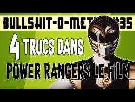 4 TRUCS DANS POWER RANGERS LE FILM (1995) - BOM #35