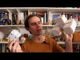 Cubes et tétra-icosaèdres étoilés en papier - Micmaths