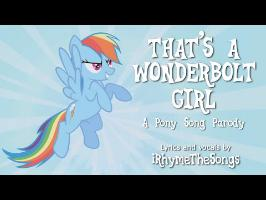 That's a Wonderbolt Girl - Pony parody of Louis Armstrong