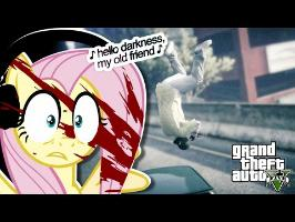 Fluttershy plays GTA 5 ???? | IT'S A MAD WORLD. (18+)