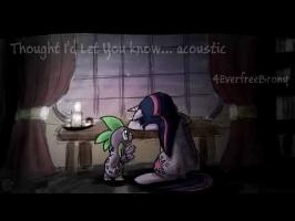 4EverfreeBrony - Thought I'd Let You Know (acoustic)