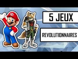 5 jeux vidéo qui ont révolutionné le monde du jeu vidéo