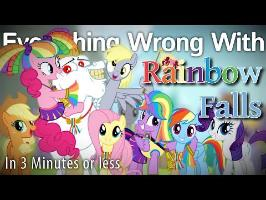 (Parody) Everything Wrong With Rainbow Falls in 3 Minutes or Less