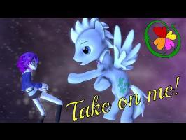 [SFM][PMV] Take on me (Весь мой мир) [RUS]
