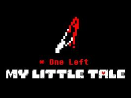 My Little Tale - One Left. (A MLP/Undertale Crossover Animation)