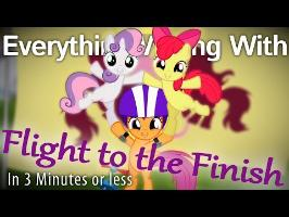 (Parody) Everything Wrong With Flight to the Finish in 3 Minutes or Less
