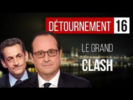 LE GRAND CLASH Sarkozy & Hollande - Superflame