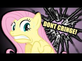 Fluttershy Tries Not To Cringe ???? | WHY DOES SHE LICK THE CAT?!