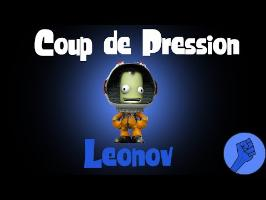 Pression VS Leonov (cloche à vide)