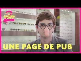 Une page de pub - Palmashow