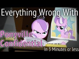 (Parody) Everything Wrong With Ponyville Confidential in 3 Minutes or Less