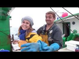 Bêtisier : Alexandra en pleine pêche à la Saint-Jacques