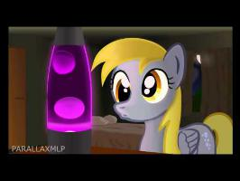 Derpy Loves her Lava Lamp (with sound!)
