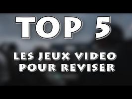TOP 5 - LES JEUX VIDEO POUR REVISER LE BREVET ET LE BAC