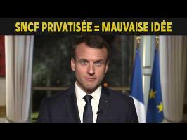 SNCF privatisée... Mauvaise idée...