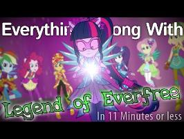 (Parody) Everything Wrong With Legend of Everfree in 11 Minutes or Less