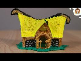 how to make a 3D House - (3D Pen)