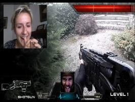 Real Life First Person Shooter (Chatroulette version)
