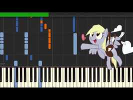 Hay Ms Derpy Synthesia Piano Version