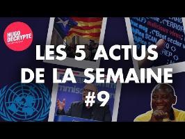 CATALOGNE, AFRIQUE DU SUD, JERUSALEM... RÉSUMÉ DES 5 ACTUS DE LA SEMAINE #9
