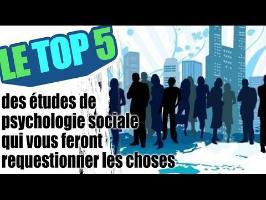Le top 5 des études de psychologie sociale qui vous feront requestionner les choses