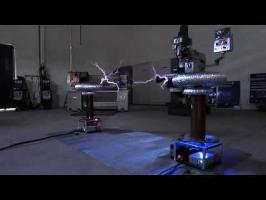 Final Countdown on Musical Tesla Coils (Bobinas de Tesla)