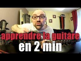 Apprendre la guitare en 2 min