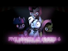 Five Nights At Pinkie's 6 - The Labyrinth Below [SFM] | 4K |