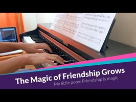 The Magic of Friendship Grows | MLP Piano Cover [Sheet music]