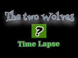 The two Wolves - Surprise Art Time Lapse
