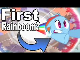Was This the First Rainboom?